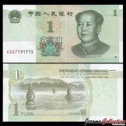 CHINE - BILLET de 1 Yuan - Mao Tse-tung - 2019 Pnew