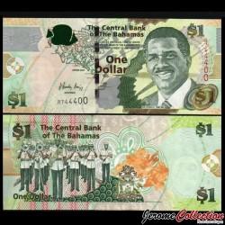 BAHAMAS - Billet de 1 Dollar - Sir Lynden O. Pindling - 2008 P71a