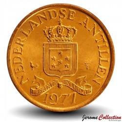 ANTILLES NEERLANDAISES - PIECE de 1 Cent - 1977