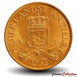 ANTILLES NEERLANDAISES - PIECE de 1 Cent - 1976