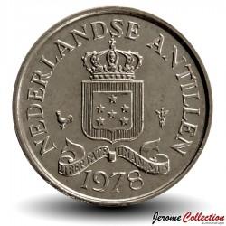 ANTILLES NEERLANDAISES - PIECE de 10 Cents - 1978