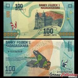 MADAGASCAR - Billet de 100 ARIARY - 2017