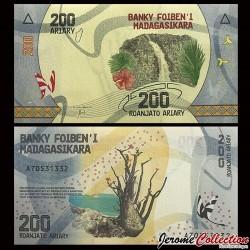 MADAGASCAR - Billet de 200 ARIARY - 2017