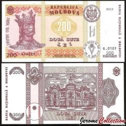 MOLDAVIE - Billet de 200 LeI - Mairie de Chişinău - 2013 P16d