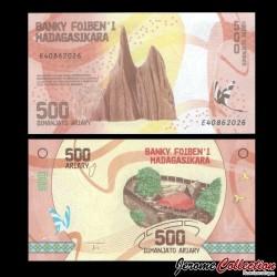 MADAGASCAR - Billet de 500 ARIARY - 2017