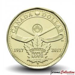 CANADA - PIECE de 1 DOLLAR - Maple Leafs de Toronto - 2017