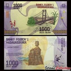 MADAGASCAR - Billet de 1000 ARIARY - 2017