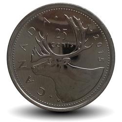 CANADA - 25 CENTS - Elizabeth II - 2015