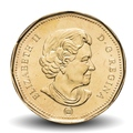 CANADA - PIECE de 1 DOLLAR - LUCKY LOONIE - JEUX OLYMPIQUES - 2008 Km#787