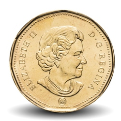 CANADA - PIECE de 1 DOLLAR - LUCKY LOONIE - JEUX OLYMPIQUES - 2008