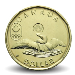 CANADA - 1 DOLLAR - LUCKY LOONIE - JEUX OLYMPIQUES - 2012
