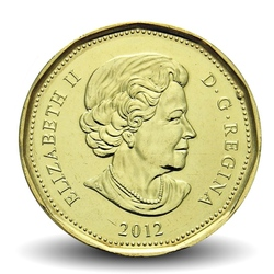 CANADA - PIECE de 1 DOLLAR - LUCKY LOONIE - JEUX OLYMPIQUES - 2012