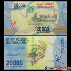 MADAGASCAR - Billet de 20000 ARIARY - 2017