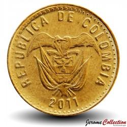 COLOMBIE - PIECE de 100 PESOS - Armoiries de la Colombie - 2011 Km#285