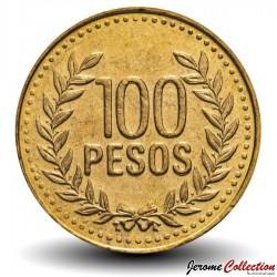 COLOMBIE - PIECE de 100 PESOS - Armoiries de la Colombie - 2011