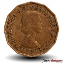 ROYAUME UNI - PIECE de 3 Pence - 1967