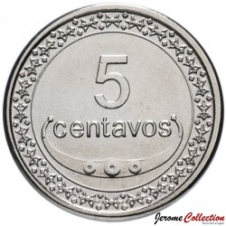 TIMOR ORIENTAL - PIECE de 5 Centavos - Un plant de riz - 2011