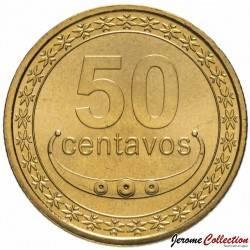 TIMOR ORIENTAL - PIECE de 50 Centavos - Un plant de café - 2011