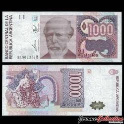 ARGENTINE - Billet de 1000 Australes - 1989