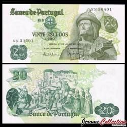 PORTUGAL - Billet de 20 Escudos - Garcia de Orta - 1974 P173a10