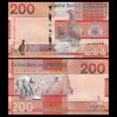 GAMBIE - Billet de 200 Dalasis - Oiseaux francolin - 2019