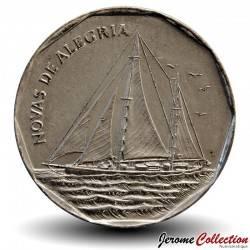 """CAP VERT - PIECE de 20 ESCUDOS - Voilier """"Novas de Alegria"""" - 1994"""