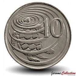 ILES CAIMANS - PIECE de 10 CENTS - Tortue verte - 2005 Km#133