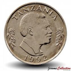 TANZANIE - PIECE de 1 Shillingi - Ali Hassan Mwinyi - 1992