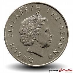 CARAIBES ORIENTALES - PIECE de 25 Cents - Bateau