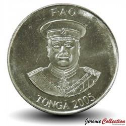 TONGA - PIECE de 10 Seniti - Régime de Banane - Fao - 2005