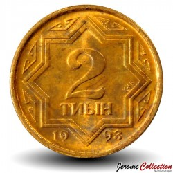 KAZAKHSTAN - PIECE de 2 tyin - 1993