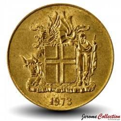 ISLANDE - PIECE de 1 Krona - 1973