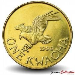 MALAWI - PIECE de 1 Kwacha - Pygargue vocifer - 1996 Km#28