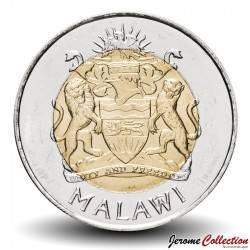 MALAWI - PIECE de 5 Kwacha - 4 pêcheurs - 2006