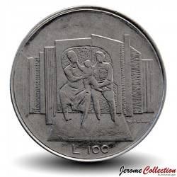 SAINT-MARIN - PIECE de 100 Lire - 1976