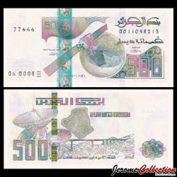 ALGERIE - Billet de 500 Dinars - Satellite Alcomsat-1 - 01.11.2018