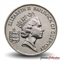 GUERNESEY (île de) - PIECE de 10 Pence - Tomates - 1992