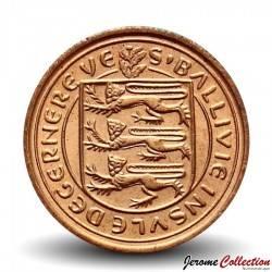 GUERNESEY (île de) - PIECE de 1/2 New Penny - Elizabeth II - 1971