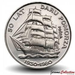 POLOGNE - PIECE de 20 ZLOTE - 50 ans du navire-école: le Dar