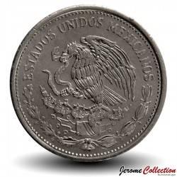 MEXIQUE - PIECE de 50 Pesos - Benito Juarez - 1990