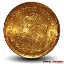 MEXIQUE - PIECE de 20 Pesos - Culture Olmèque - 1983