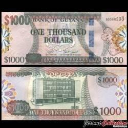 GUYANA - Billet de 1000 DOLLARS - 2019