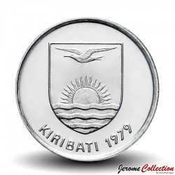 KIRIBATI - PIECE de 5 Cents - Gecko tokay - 1979