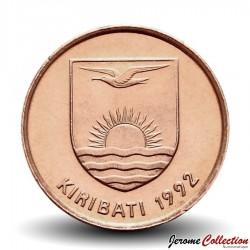 KIRIBATI - PIECE de 1 Cent - Oiseau frégate - 1992