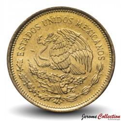 MEXIQUE - PIECE de 5 Pesos - Armoiries du Mexique - 1985