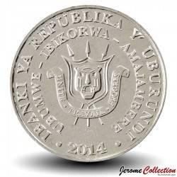 BURUNDI - PIECE de 5 Francs - Stephanoaetus coronatus - 2014