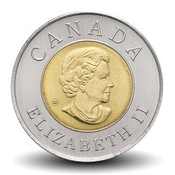 CANADA - PIECE de 2 DOLLARS - Ville de Québec - 2008