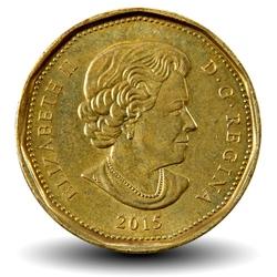 CANADA - PIECE de 1 DOLLAR - 2015