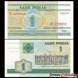 BIÉLORUSSIE - Billet de 1 Rouble - 2000 P21a