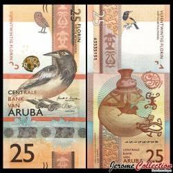 ARUBA - Billet de 25 Florin - Oiseau Oriole troupiale - 2019 P22a